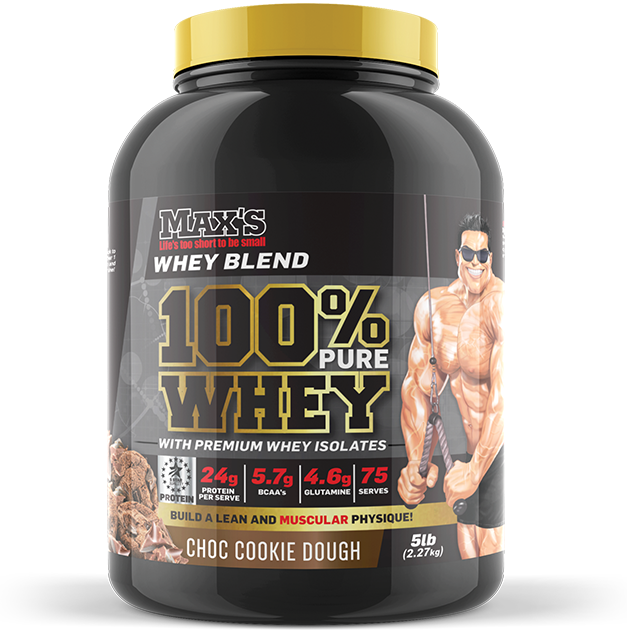 Max's 100% Pure Whey - MrSupplement
