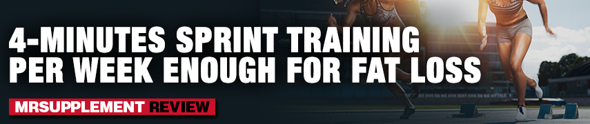 4-Minutes Sprint Training Per Week Enough for Fat Loss