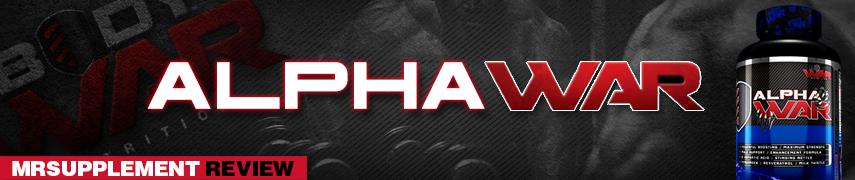 Body War -  Alpha War -  MrSupplement Review