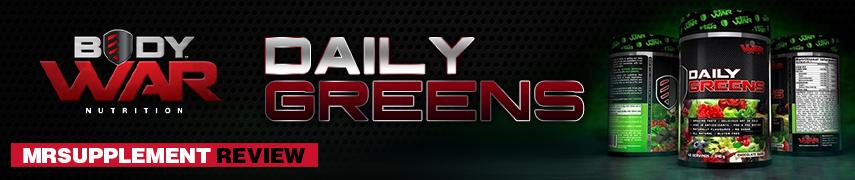 Body War Daily Greens - MrSupplement Review