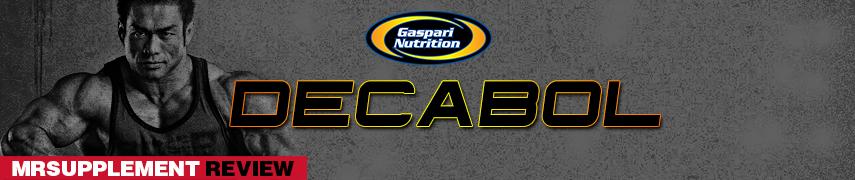 Gaspari Nutrition - Decabol -  MrSupplement Review