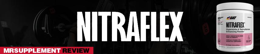 Gat Nitraflex -  MrSupplement Review