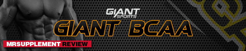 Giant Sports Giant BCAA - MrSupplement Review