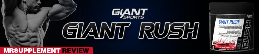 Giant Sports - Giant Rush - MrSupplement Review