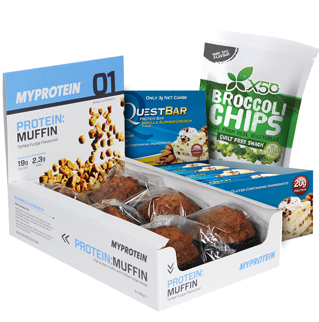 High Protein And Healthy Snacks - MrSupplement