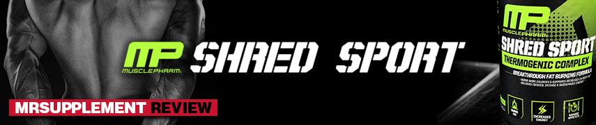 MusclePharm Shred Sport