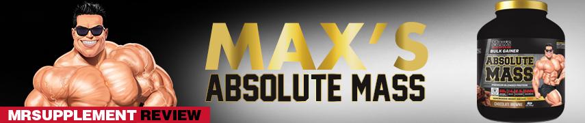 Max's Absolute Mass - MrSupplement Review
