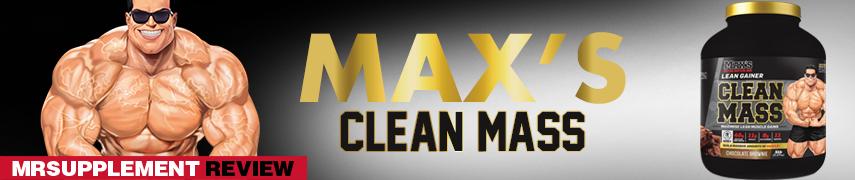 Max's Clean Mass - MrSupplement Review