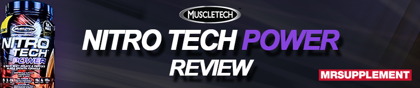 MuscleTech Nitro Tech Power