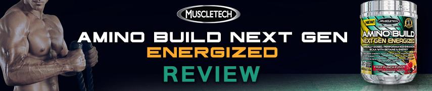 Muscletech Amino Build Next Gen Energized Review