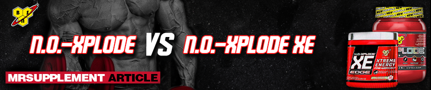 No Xplode VS No Xplode XE - Mrsupplement
