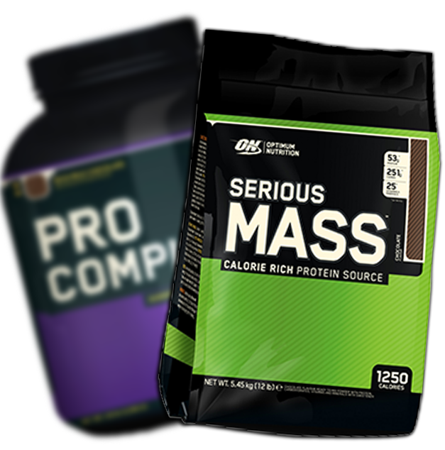 Pro Complex Gainer and Serious Mass