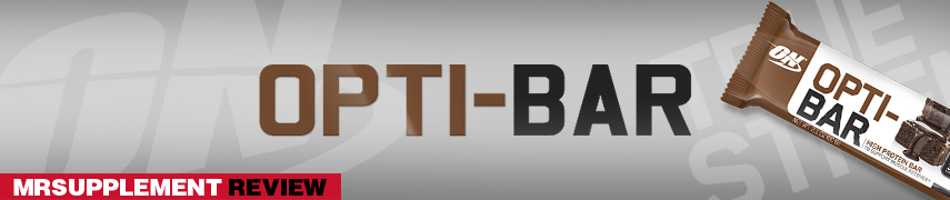 Optimum Nutrition Opti-Bar - Mrsupplement Review