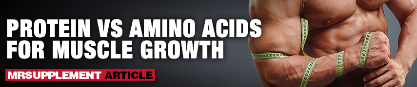Protein vs Amino Acids for Muscle Growth - MrSupplement Article