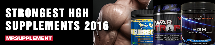 Strongest hGH Supplement 2016