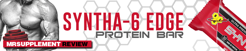 BSN Syntha 6 Edge Protein Bar - Mrsupplement Review