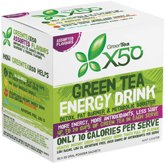 Tribeca Health Green Tea x50