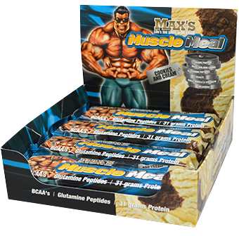 Max's Muscle Meal Bars & Cookies