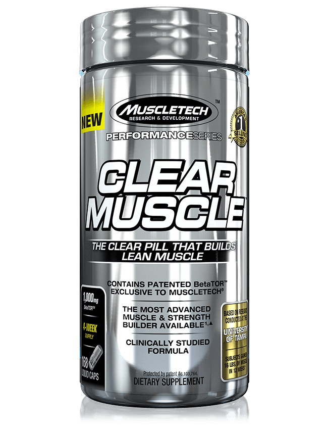 Muscletech Clear Muscle product