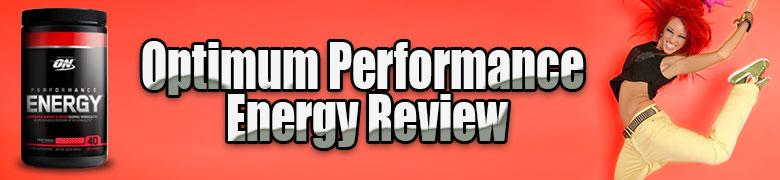 Optimum Performance Energy Review