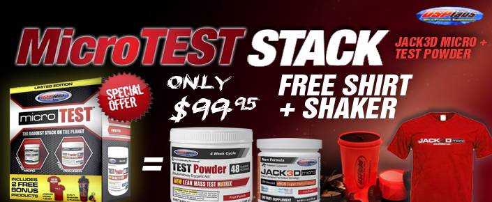 Usplabs MicroTest Stack