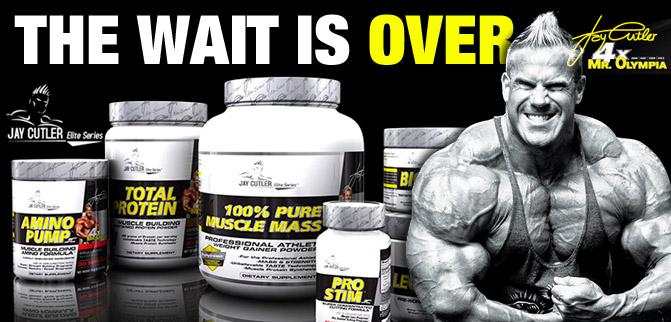 Jay Cutler Elite Series Available Now