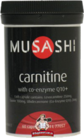Musashi Carnitine with Co-Enzyme Q10+