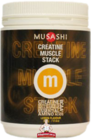 Musashi Creatine Muscle Stack