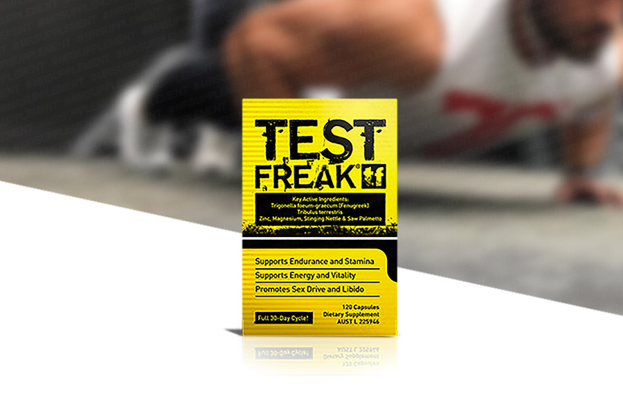 PharmaFreak Test Freak | 120 Capsules | Mr Supplement Australia