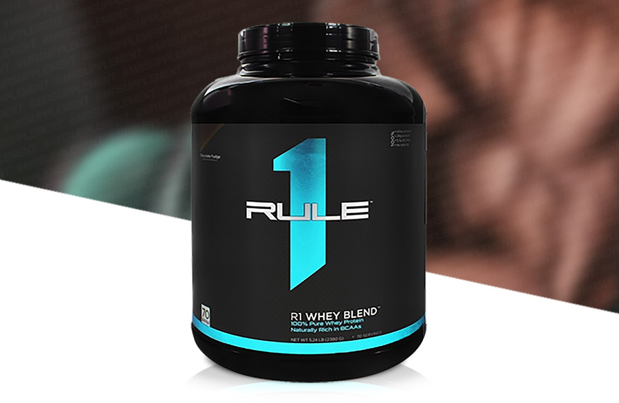 4637f0795 Rule 1 Whey Blend is a combination of fast acting proteins whey protein  concentrate