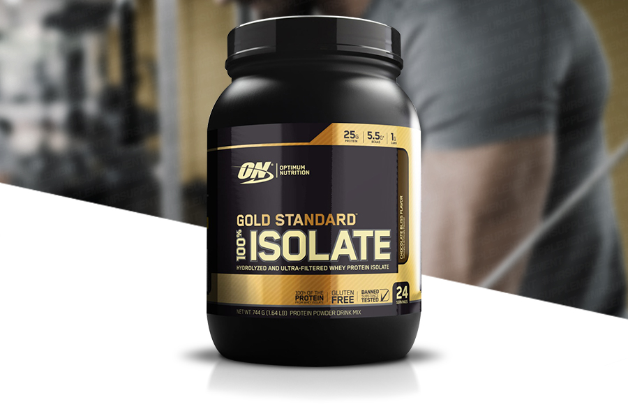 Gold Standard 100 Isolate by Optimum Nutrition | Mr Supplement
