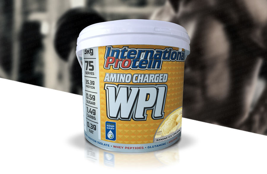 Image result for international protein amino charged wpi