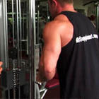 Cable Tricep Press Down