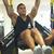 Tri Sets Abs - Hanging Leg Raises & Ball Crunch Plus The Plank