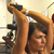 Ladies Dumbbell Overhead Tricep Extension